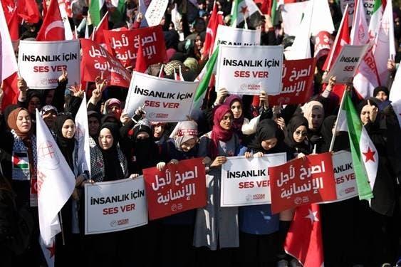 مظاهرات سابقة في تركيا