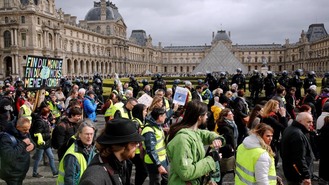 احتجاج السترات الصفر في باريس