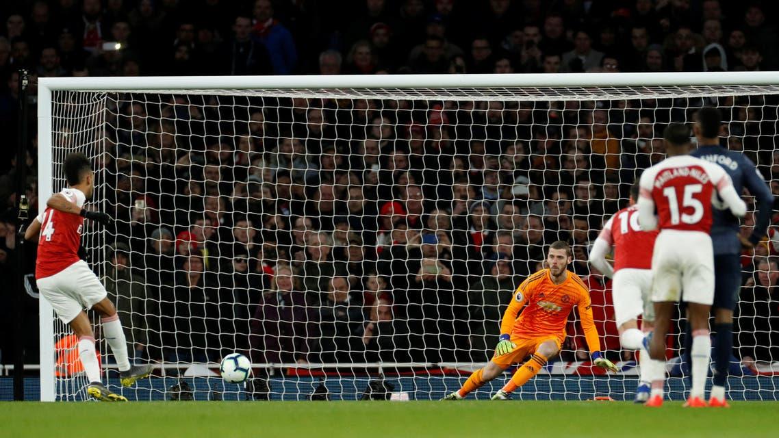 أرسنال مانشستر يونايتد