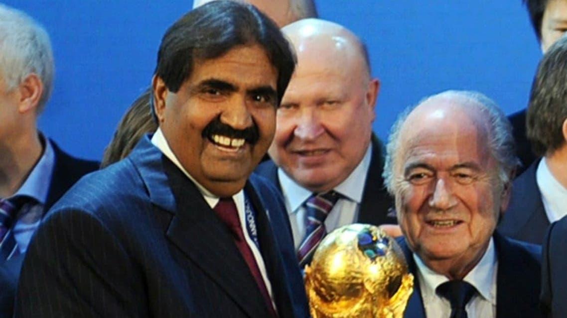 فوز قطر باستضافة كأس العالم 2022