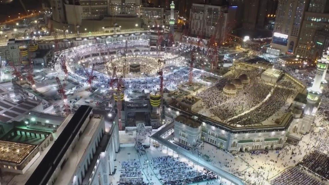 تطبيق مفهوم المخيمات الذكية في مكة المكرمة والمدينة