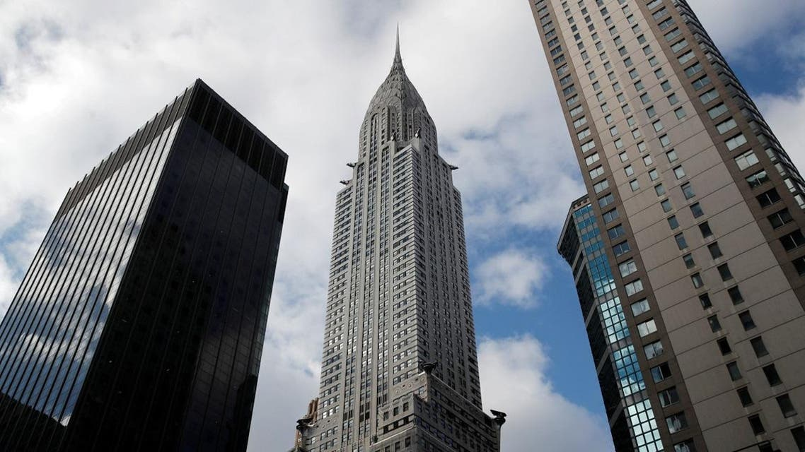 New York City's iconic Chrysler Building is seen in Manhattan. (Reuters)