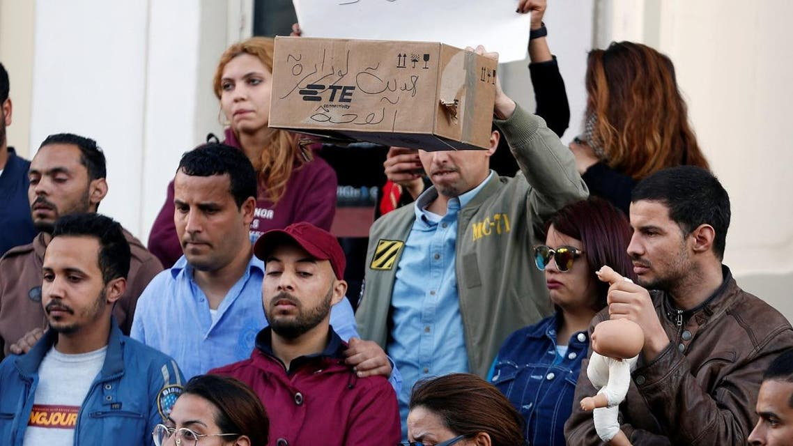 Tunisian babies death. (Reuters)