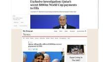 عالمی کپ فٹبال کی میزبانی کے لیے قطر کی رشوت پر برطانوی اخبارات کا تبصرہ