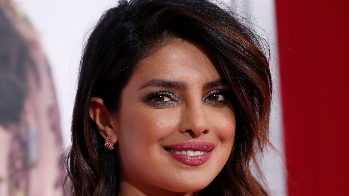 Cast member Priyanka Chopra poses at the premiere for the movie Isn't It Romantic in Los Angeles, California, U.S., February 11, 2019. REUTERS/Mario Anzuoni