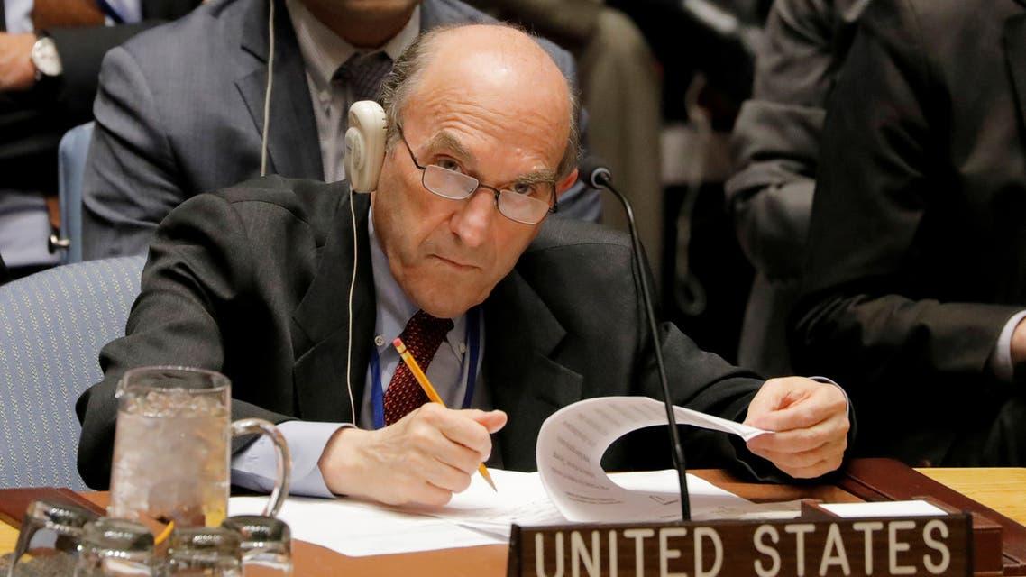 كبير مبعوثي الولايات المتحدة لفنزويلا إليوت أبرامز في نيويورك