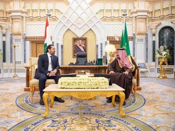 الملك سلمان يبحث مع الحريري مستجدات الساحة اللبنانية