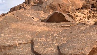 شاهد أكبر مدونة تاريخية في العلا.. 450 نقشا عربيا مبكرا
