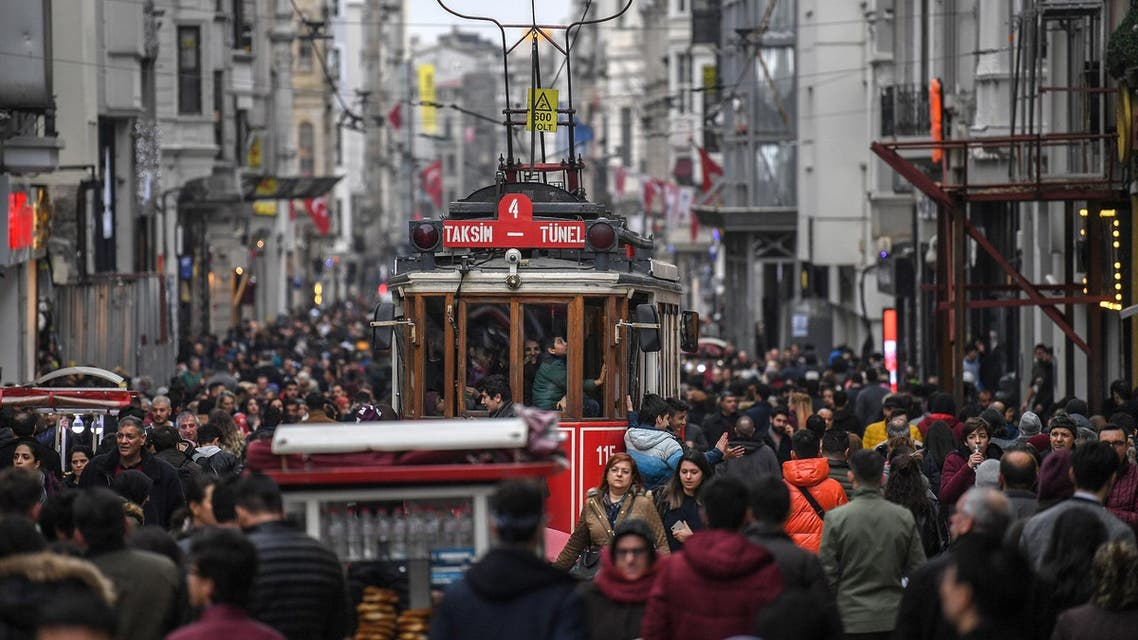 Turkey's economy entered its first recession in a decade, just weeks before President Recep Tayyip Erdogan's government faces local elections. (File photo: AFP)