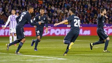 """ريال مدريد يمسح أحزان """"الأبطال"""" برباعية أمام بلد الوليد"""