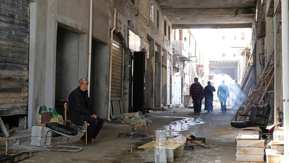 A view of buildings destroyed by the war, near the old popular market known as the Souk al-Jureid, in Benghazi, Libya February 7, 2019. Picture taken February 7, 2019. REUTERS/Esam Omran Al-Fetori
