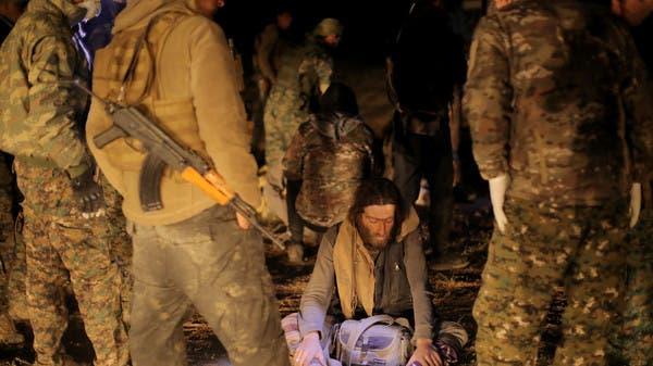"""الباغوز.. عناصر داعش خارج الأنفاق """"بلباس نسائي"""""""