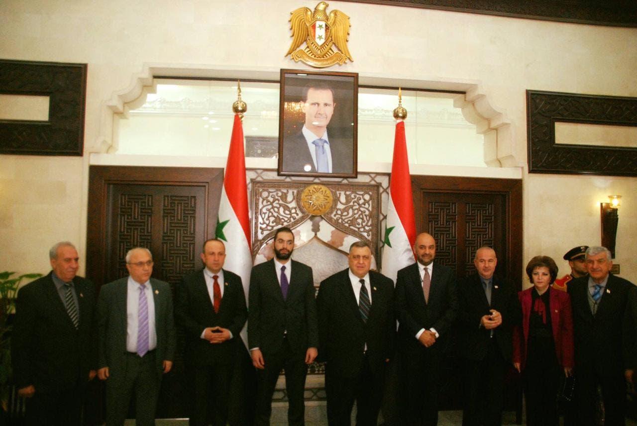 زيارة لجنة الشؤون الخارجية في البرلمان الأردني لسوريا بعد فتح الحدود