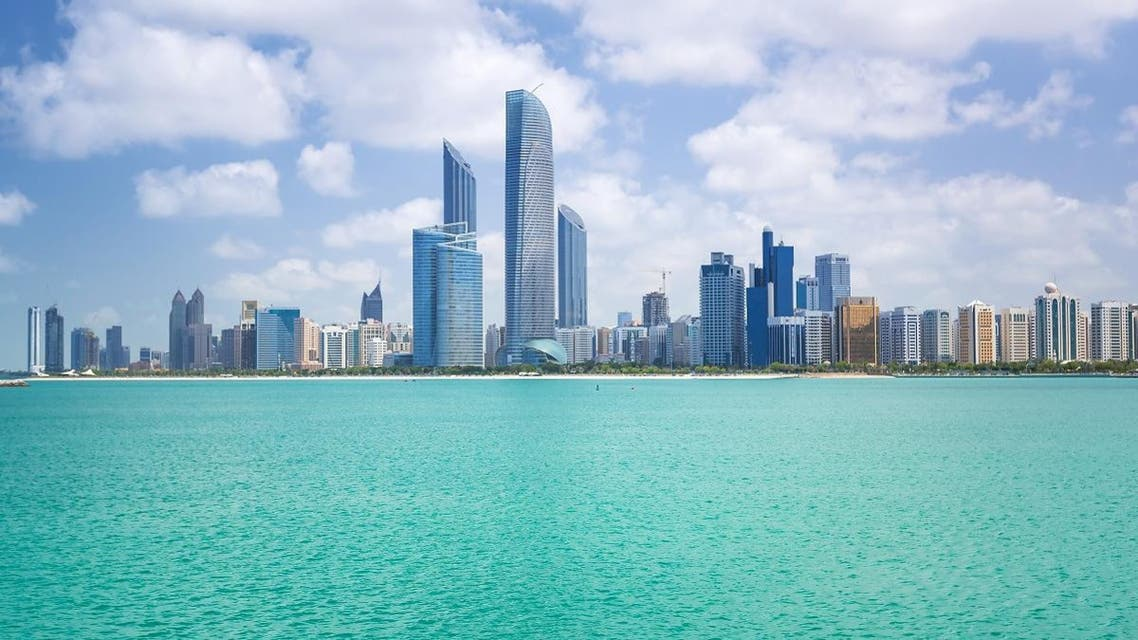 ABU DHABI, UAE - MARCH 27: Cityscape of Abu Dhabi on March 27, 2014, UAE. Abu Dhabi is the capital and the second most populous city in the United Arab Emirates with around 1 million people. - Image SHUTTERSTOCK