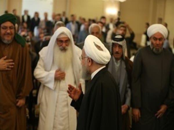 العراق.. روحاني يخرق العرف الدبلوماسي ويلتقي قادة عشائر