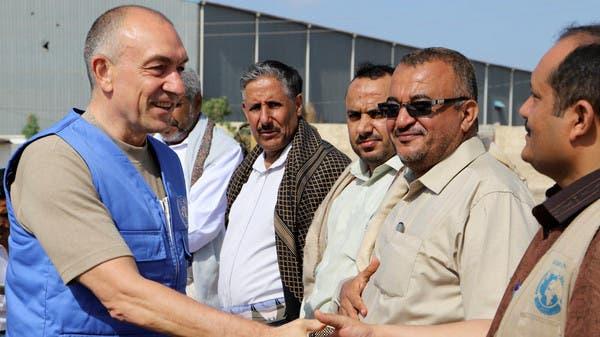 لوليسغارد مع قياديين حوثيين في الحديدة (أرشيفية)