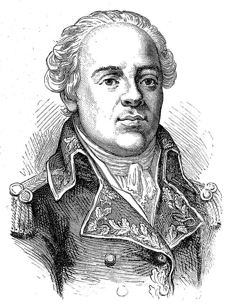 صورة للجنرال الفرنسي جاك فرانسوا مينو