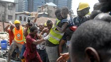 Three-story building collapses in Nigeria with children inside