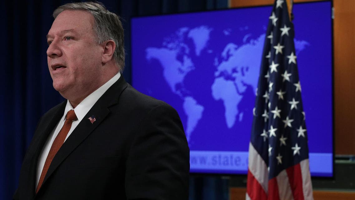 US Secretary of State Mike Pompeo speaks about the release of the 2018 Country Reports on Human Rights Practices on March 13, 2019 in Washington, DC. (AFP)