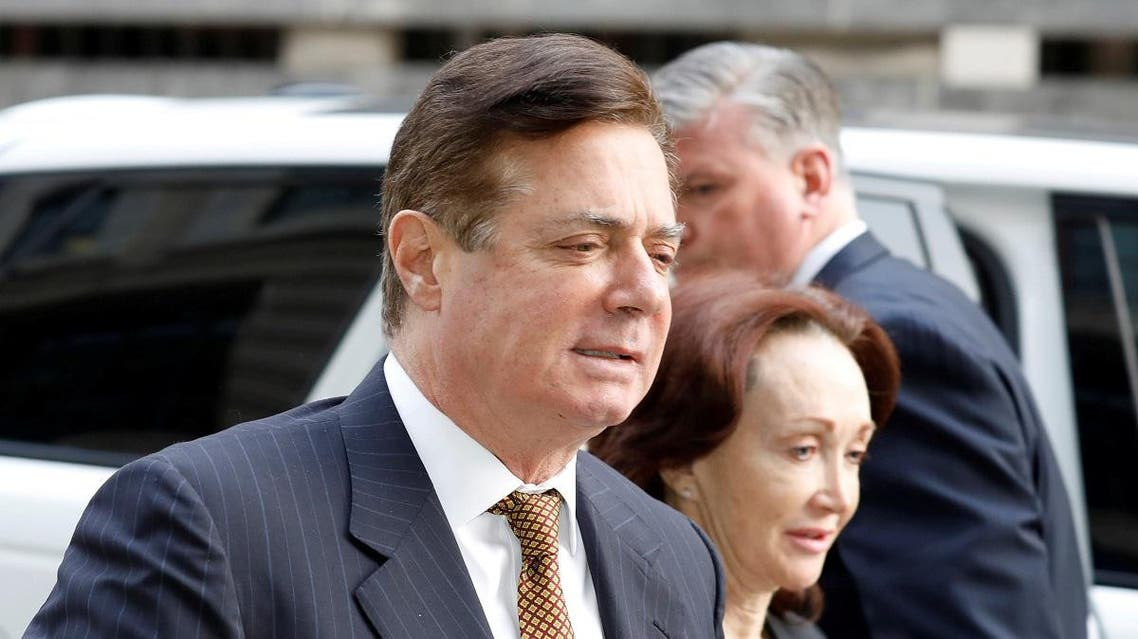 President Trump's former campaign manager Paul Manafort arrives at a hearing. (File photo: Reuters)