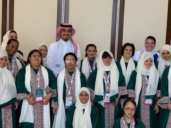عبدالعزيز الفيصل يزور المشاركين في الأولمبياد الخاص
