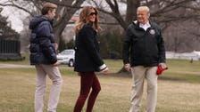 Trump blasts 'fake news' over Melania body double theory