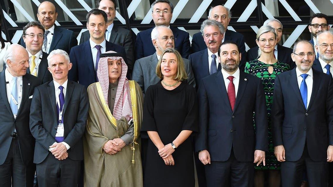 aljubeir Brussels syria (AFP)