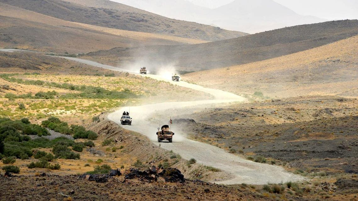 A file photo of Afghan National Army (ANA) soldiers patrolling a restive region. (AFP)