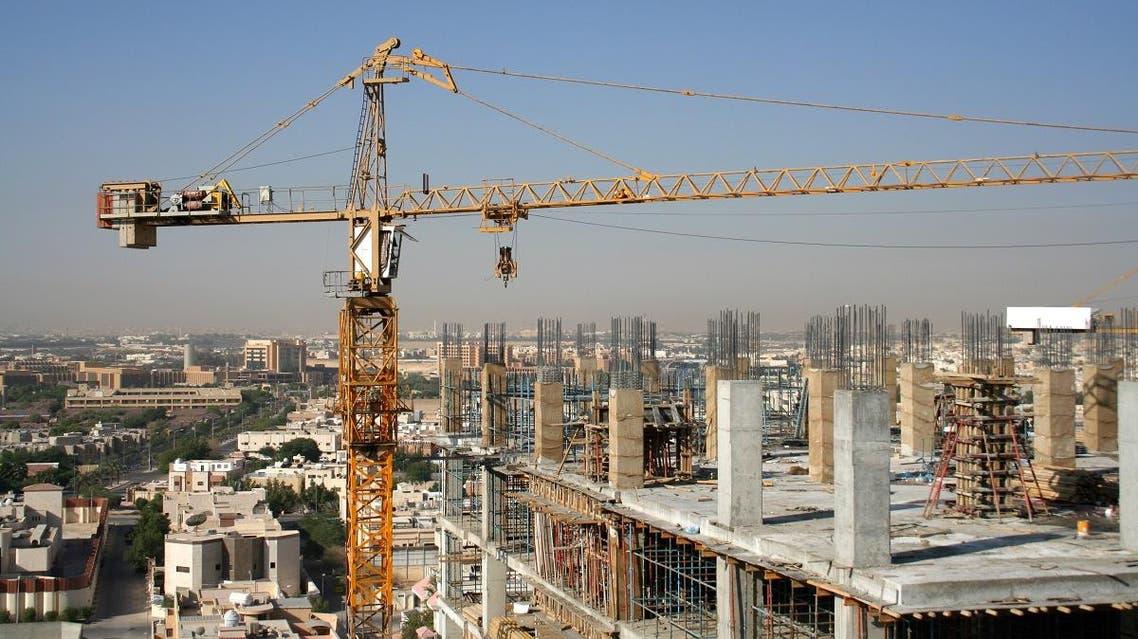 New construction of a tower building in Riyadh, Saudi Arabia. (Shutterstock)