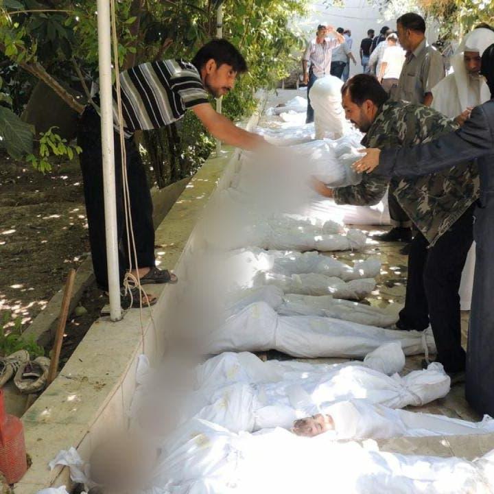 أميركا: توجد دلائل على استخدام نظام الأسد أسلحة كيمياوية