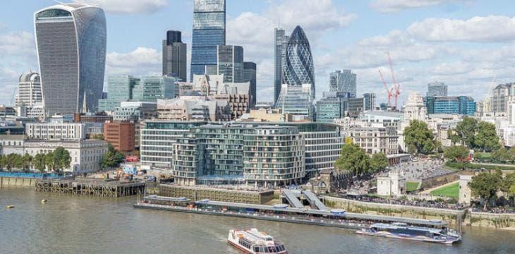 الحي المالي في لندن
