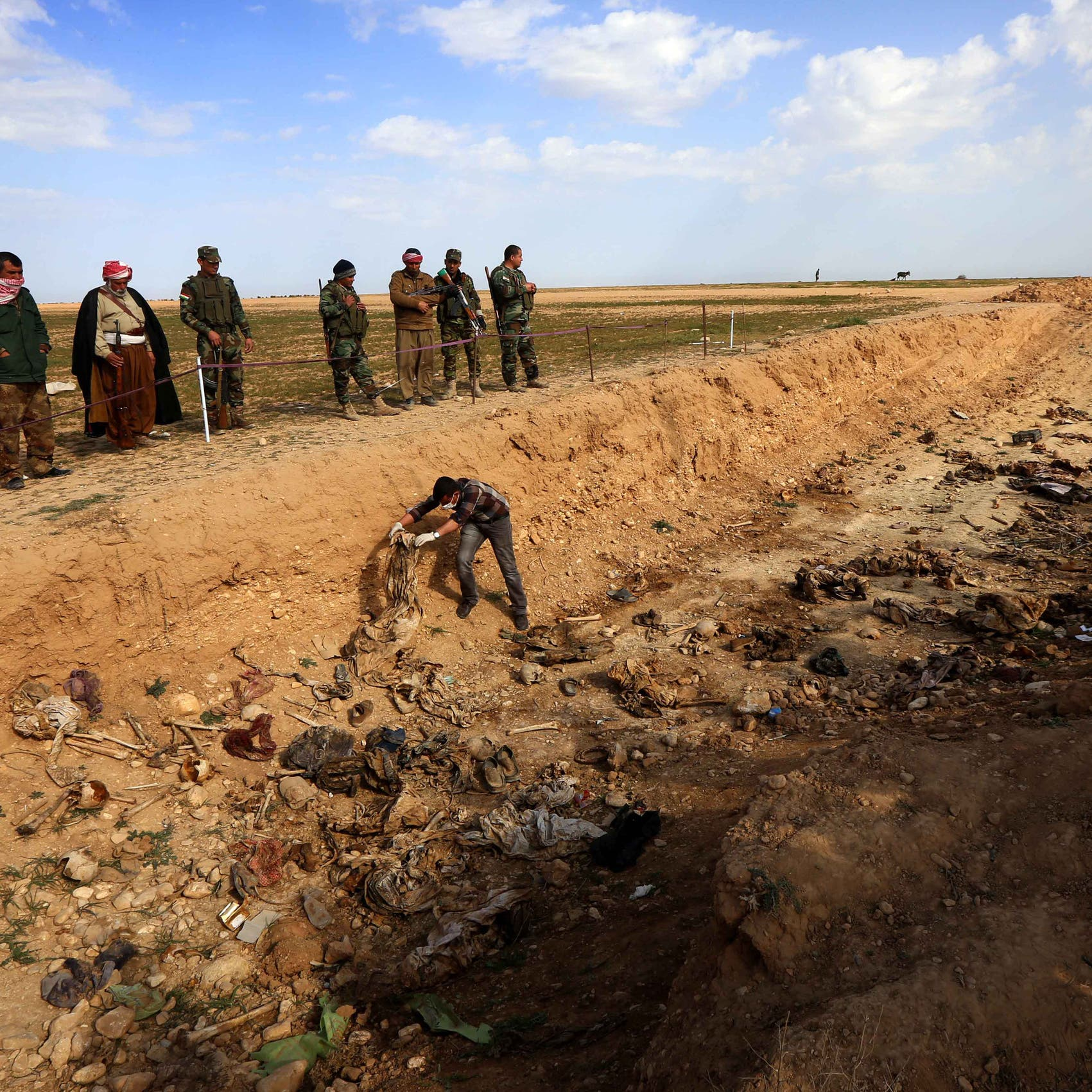 كشف هويات 141 جثة أخرجت من مقابر جماعية في سنجار
