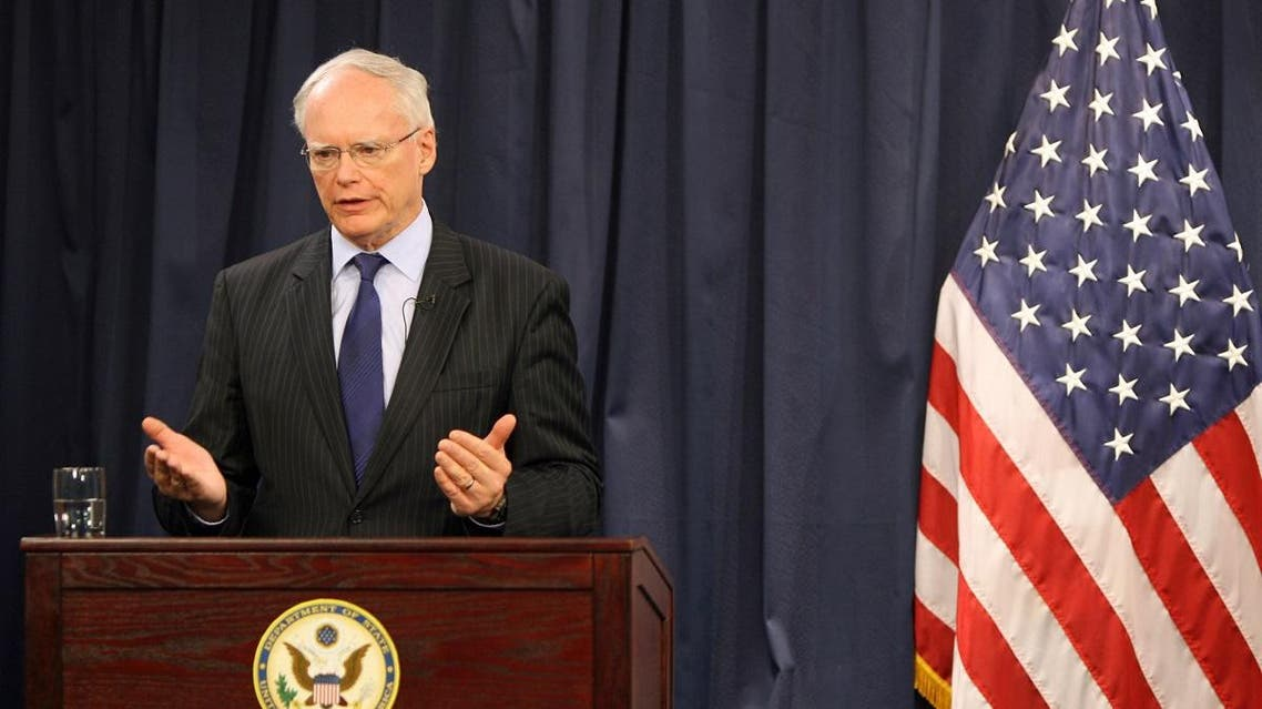 James Jeffrey US Special Representative for Syria Engagement and Special Envoy to the Global Coalition to Defeat ISIS. (AFP)