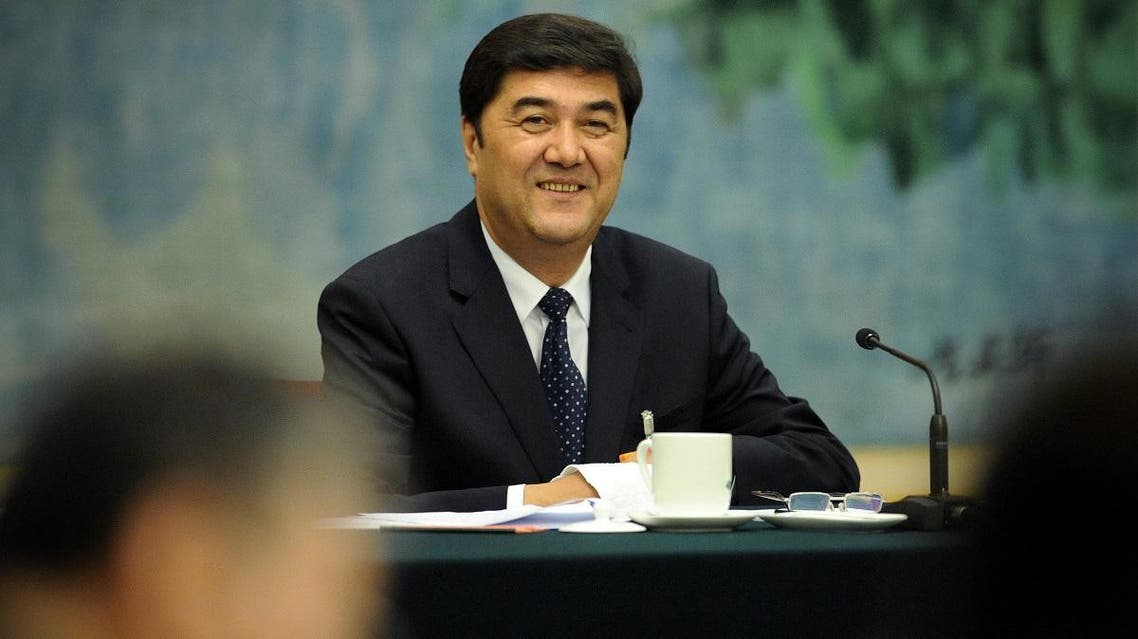 File photo of Nur Bekri, head of China's energy administration. (AFP)
