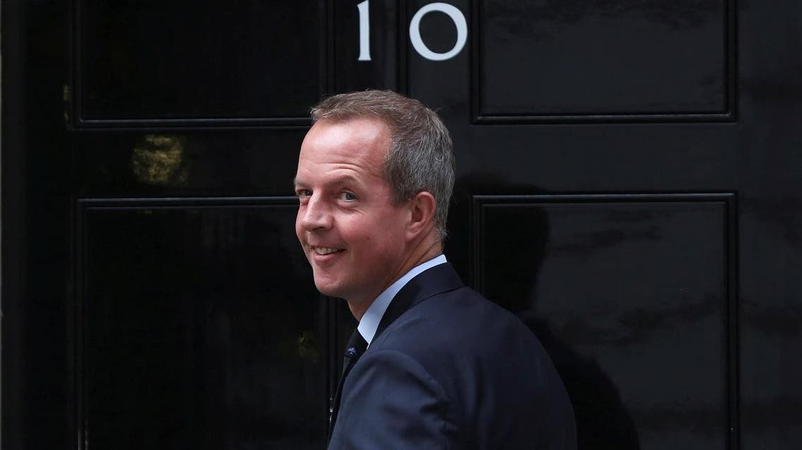 File photo of Nick Boles arrives at 10 Downing Street, in central London, on May 11, 2015. (Reuters)