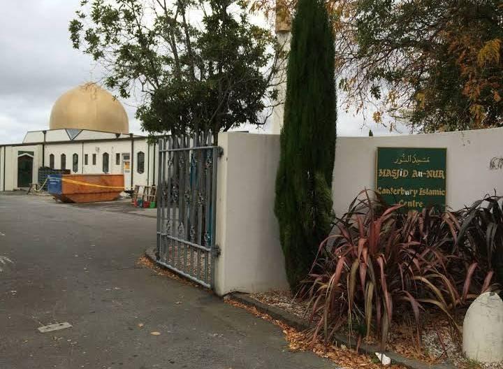 مسجد النور الذي شهد الهجوم الإرهابي