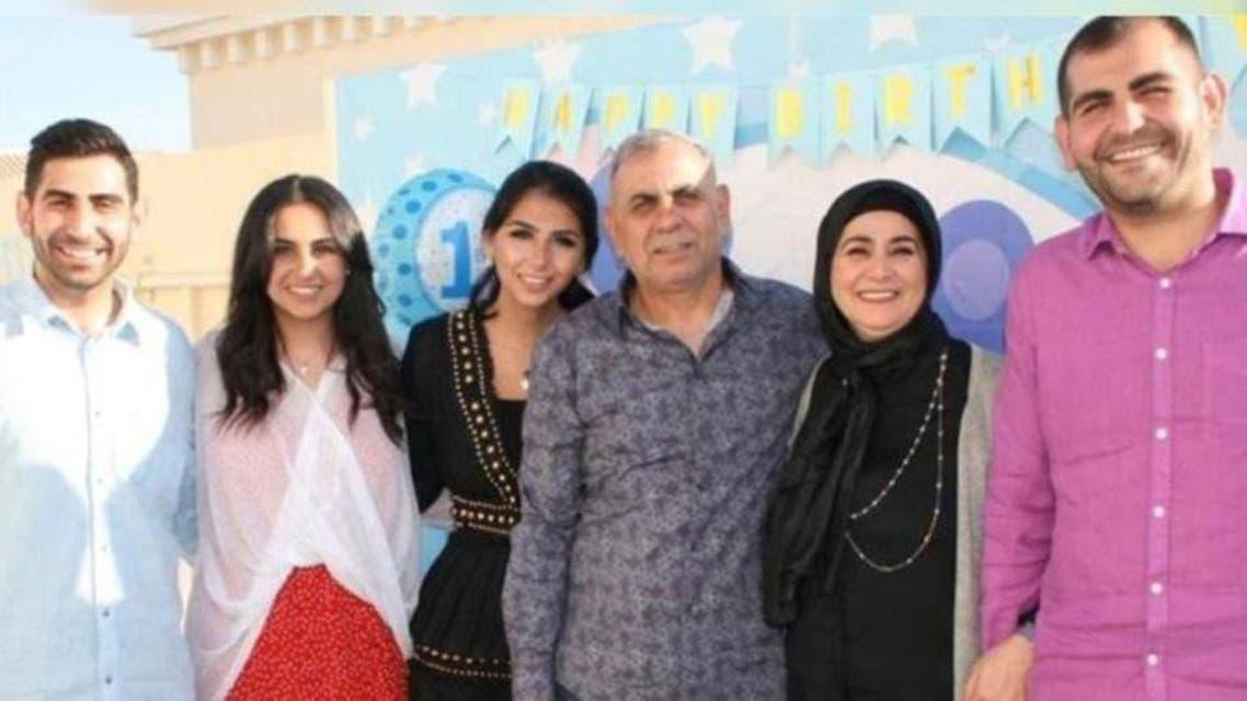 عراقی شہری ادیب سامی اور ان کا خاندان