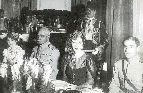 محمدرضا پهلوی، ملکه نازلی (مادر فوزیه)، رضاشاه پهلوی و فوزیه