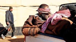 عناصر من داعش خرجوا من الباغوز
