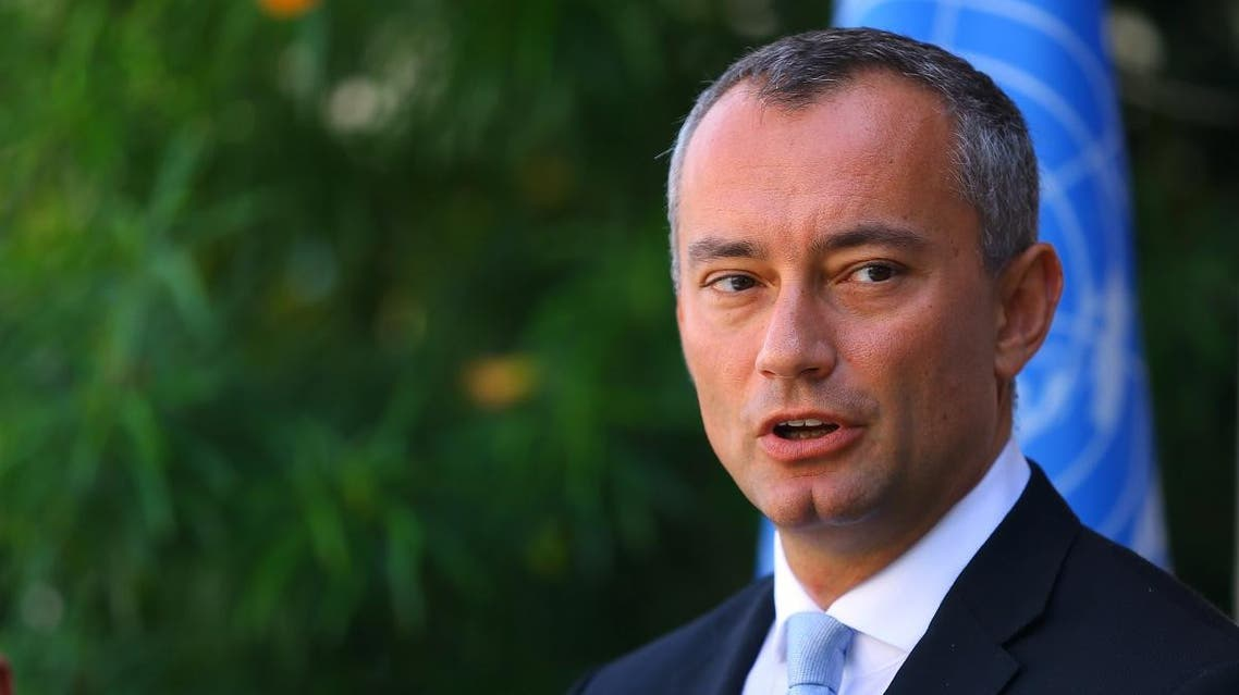 Nikolay Mladenov, United Nations Special Coordinator for the Middle East Peace Process. (AFP)