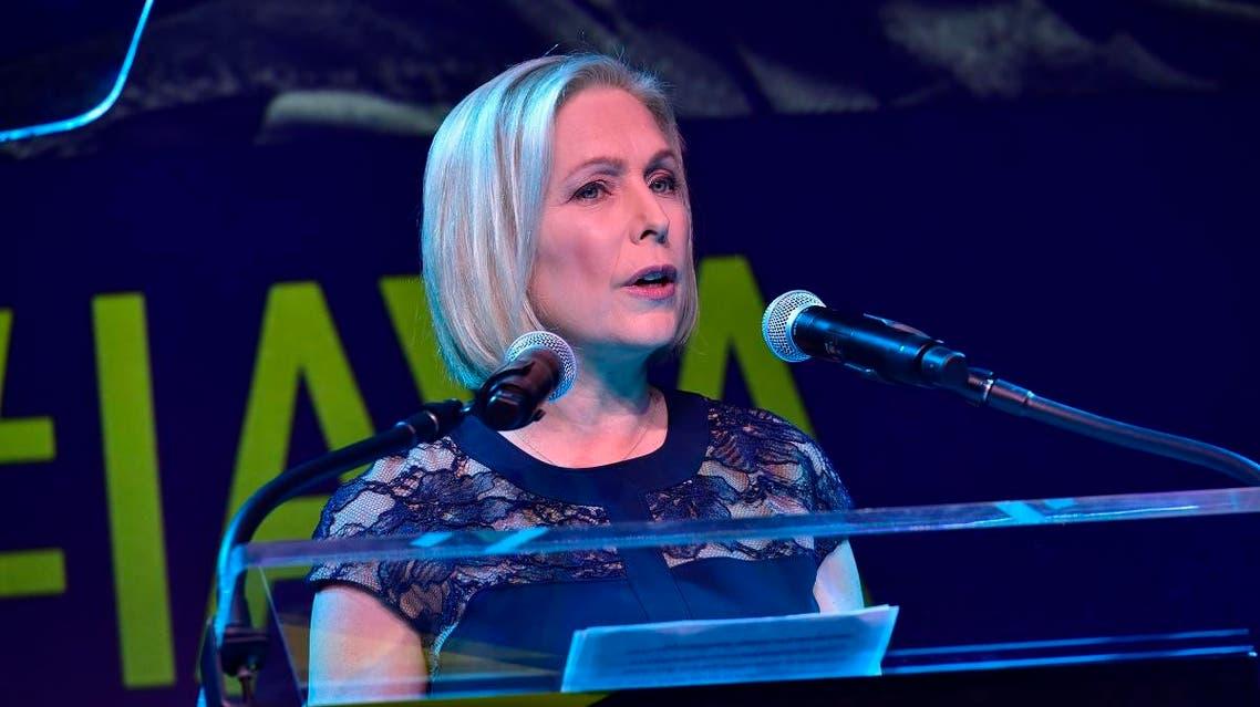 New York Senator Kirsten Gillibrand. (AFP)