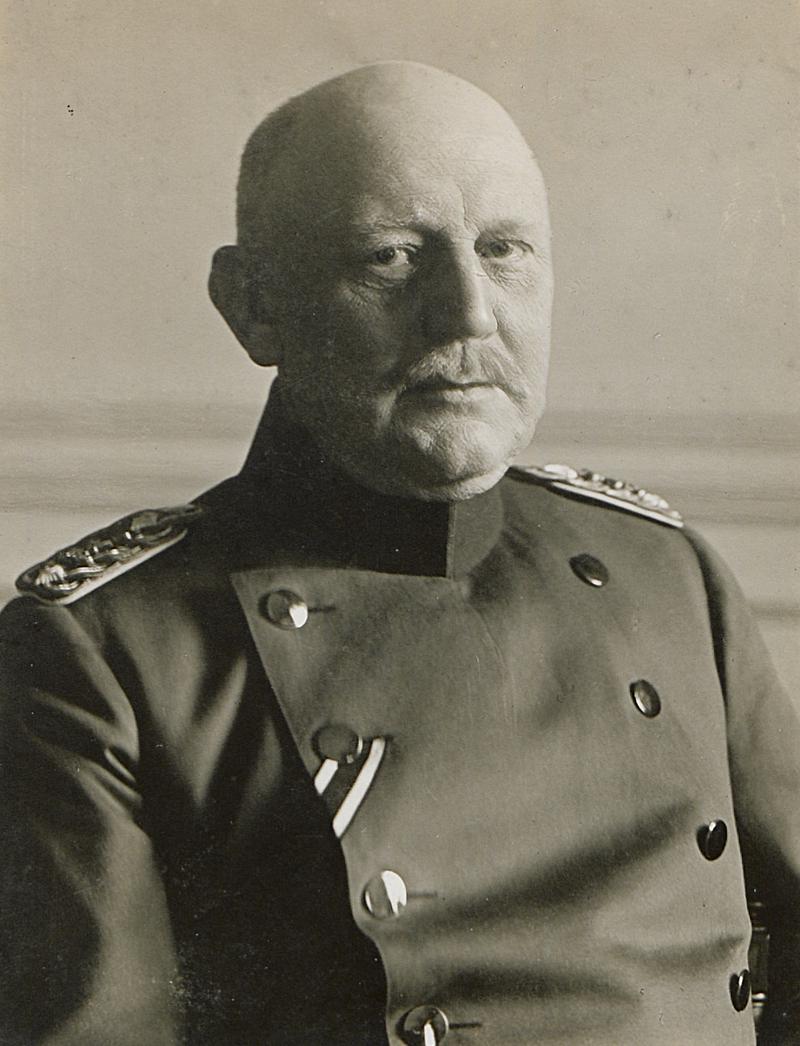 صورة للجنرال الألماني فون مولتكه