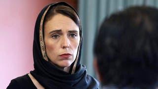 رئيسة الوزراء النيوزيلندية