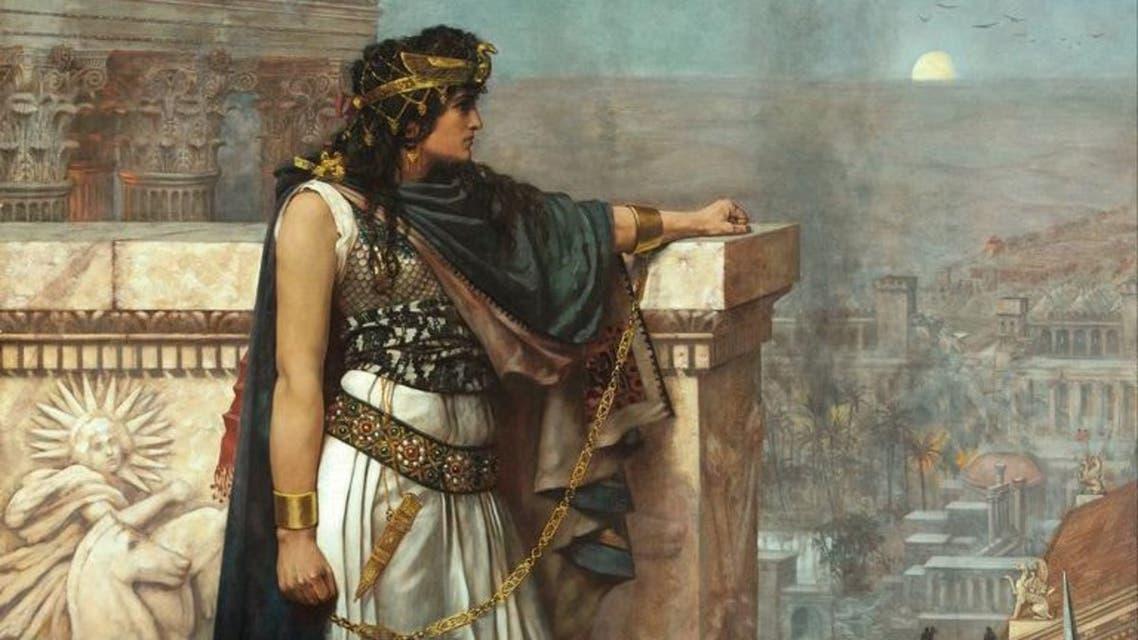 رسم تخيلي للملكة زنوبيا