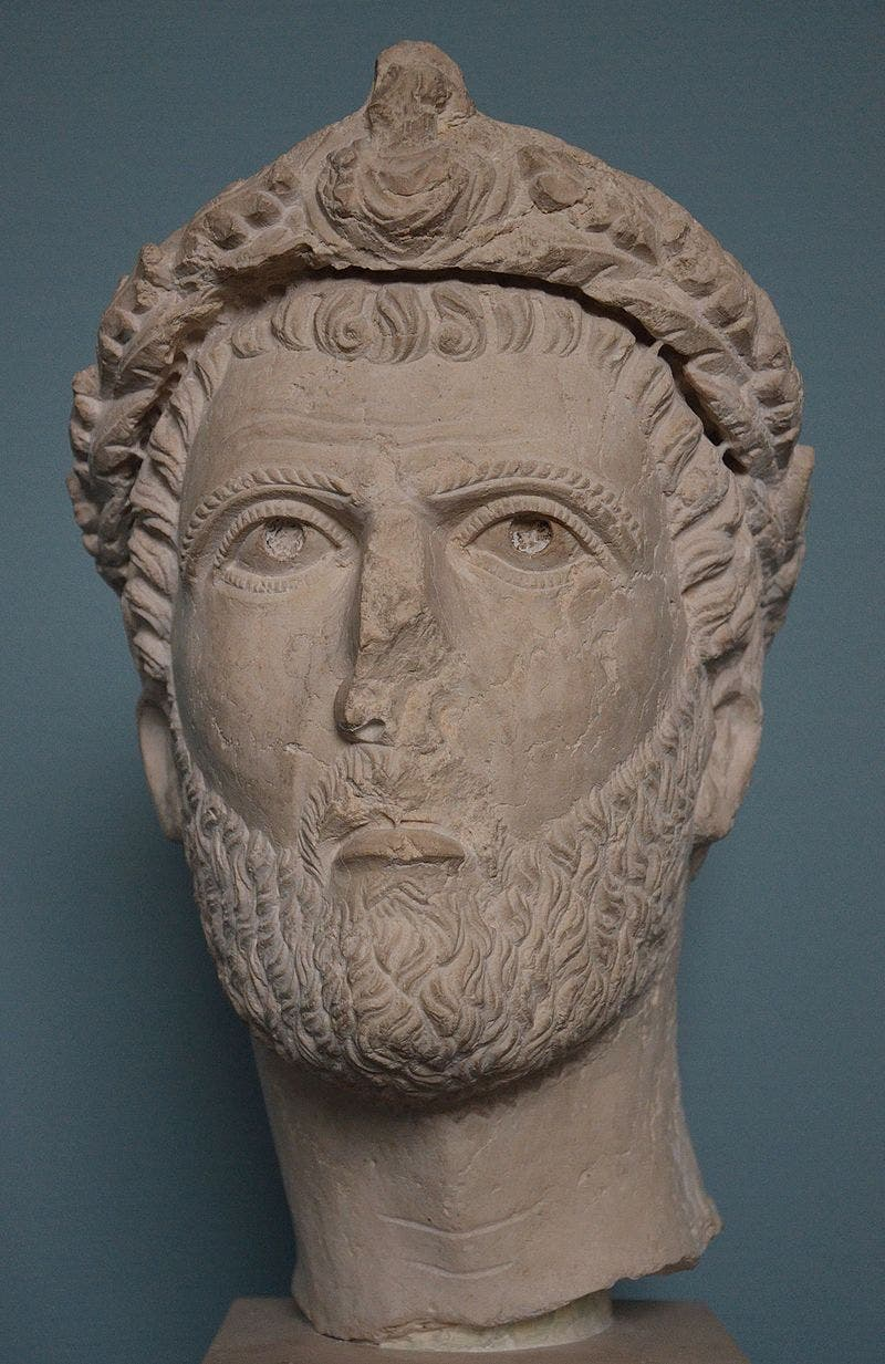 تمثال نصفي لسبتيموس أذينة