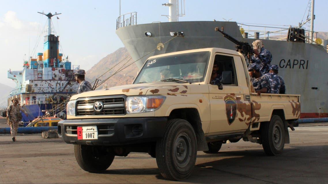 آلية عسكرية تابعة للجيش اليمني 3
