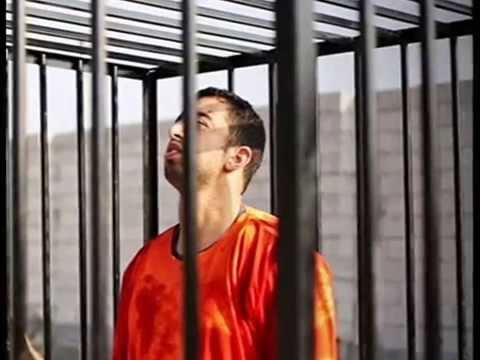 الكساسبة معتقلا قبل حرقه