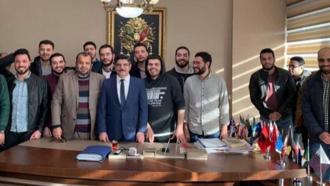 لقاء ياسين أقطاي بشباب الإخوان