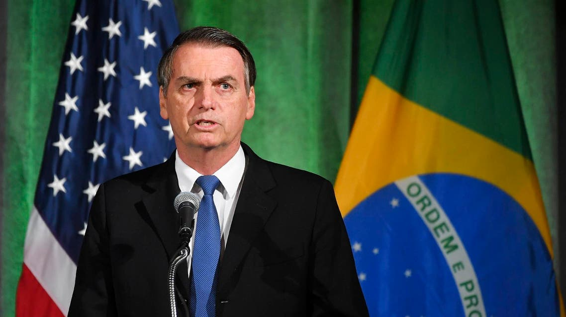 Brazil's new right-wing president, Jair Bolsonaro, signed a deal to open a base to US satellite launches. (File photo: AFP)