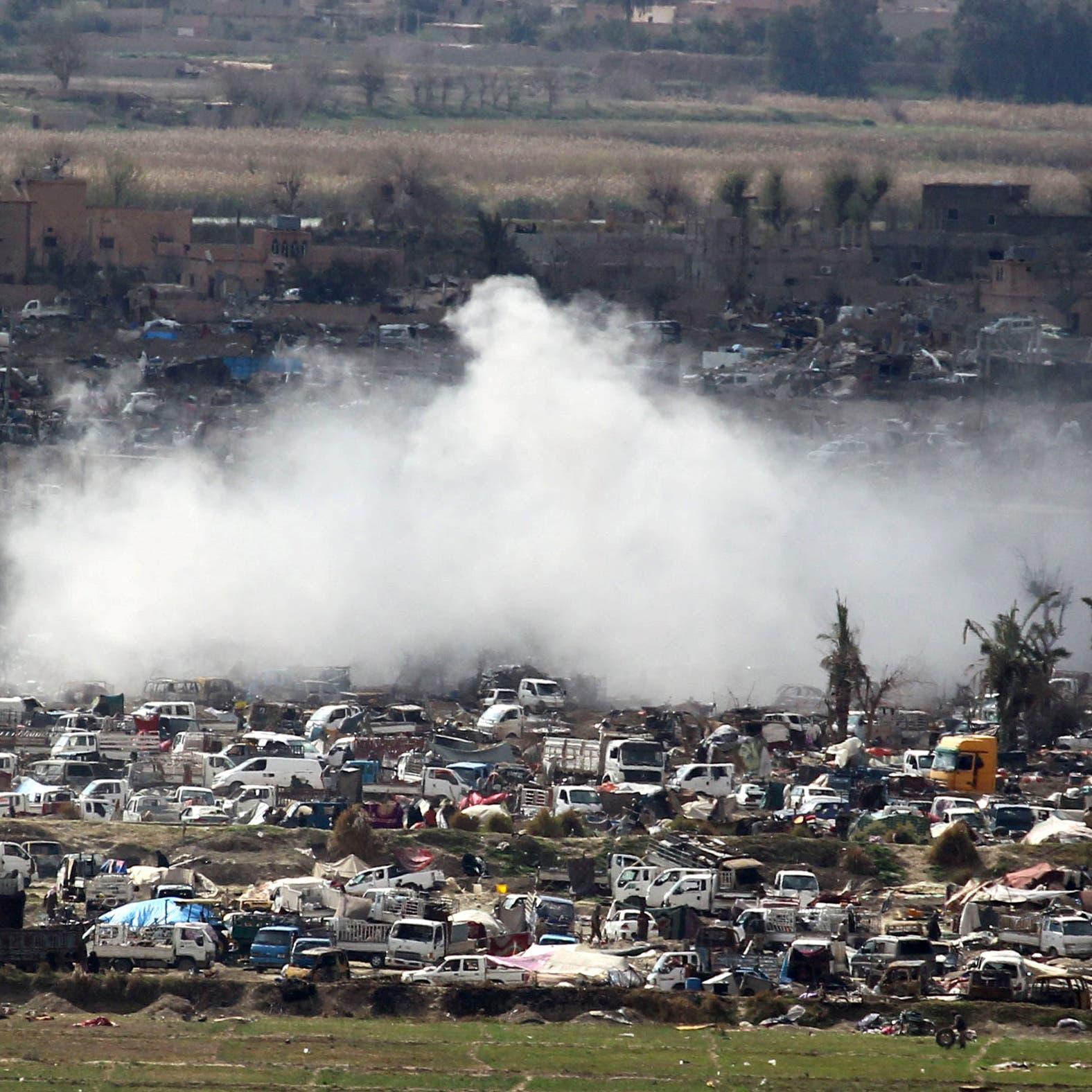 سوريا.. قسد تأسر 157 إرهابيا في الباغوز
